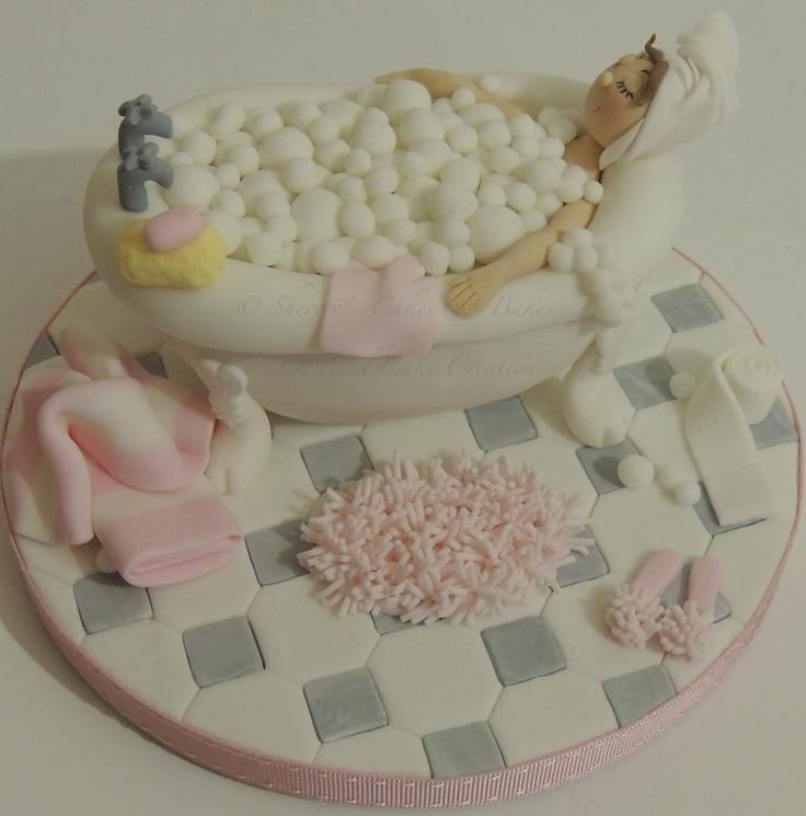 Bathtub Cake.