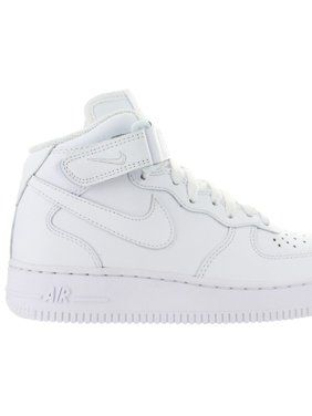 official photos 1e157 6d3cd Womens Nike Air Force 1 Mid  07 Leather White 366731-100