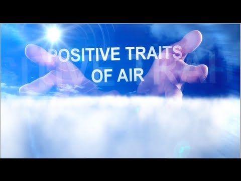 Air Horoscope Signs: Gemini, Libra, Aquarius -- Good Traits. Dr. Craig looks at the good personality traits of air signs and air and the best parts of air signs personality. http://www.insideconnection.tv/