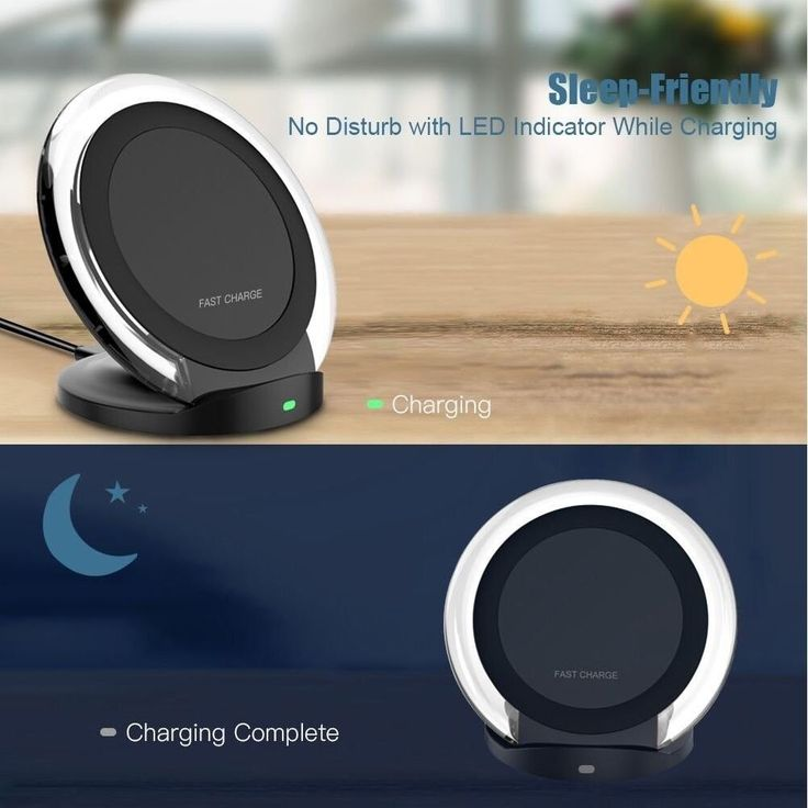 #10W Quick #ChargingDock, #Galaxy #Note 8 Fast #Wireless #Charger Sleep-Friendly NEW