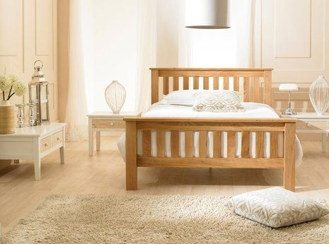 Richmond Oak Bed - (multiple sizes)