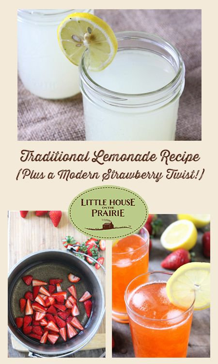 Lemonade is a timeless beverage that even little Laura Ingalls enjoyed during special occasions. Laura tasted lemonade for the first time at Nellie Oleson's party and remembers how it was both sweet and sour.