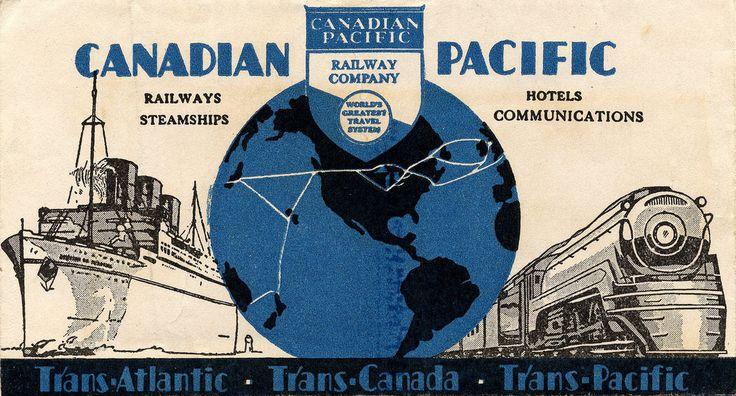 https://flic.kr/p/7Rfrzp | Canadian Pacific ticket holder July 1940