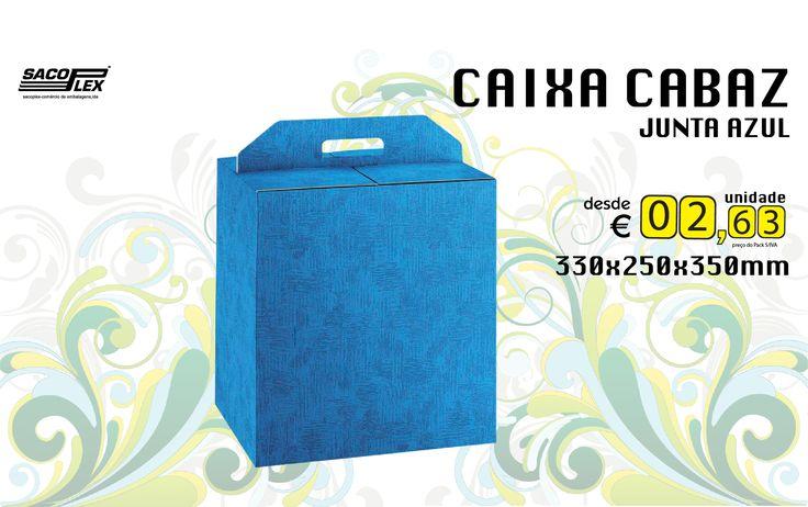 Caixa Cabaz Junta Azul