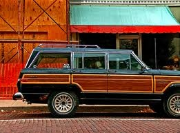 Grand WagoneerFamilies Roads Trips, Old Schools, First Cars, Jeeps Wagon, Cars Crushes, Jeeps Things, Grand Wagon, Dreams Cars, Schools Wagon