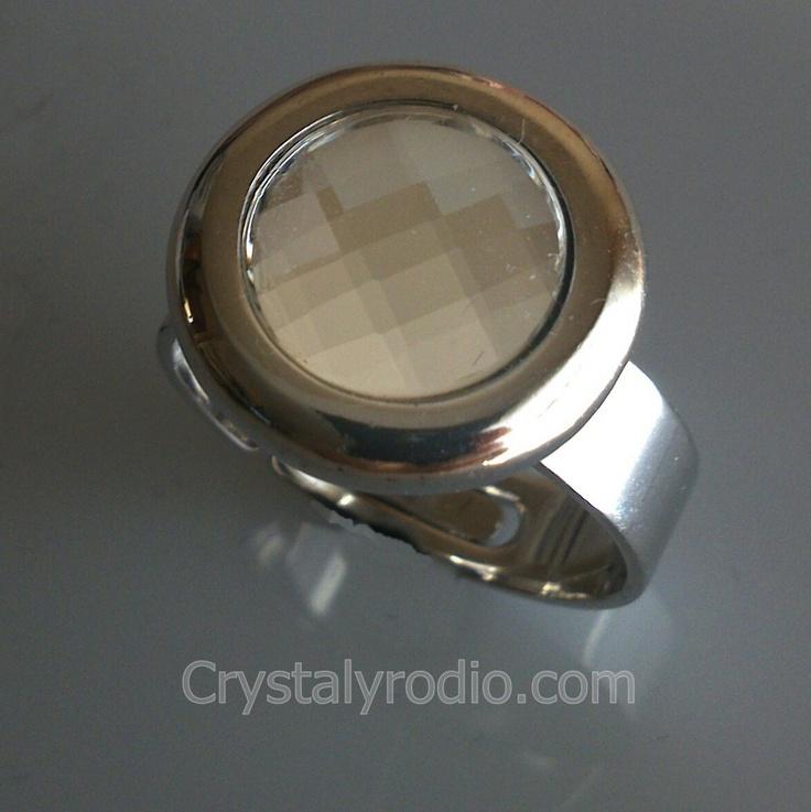 Anillo cristal swarovski elements uni-talla