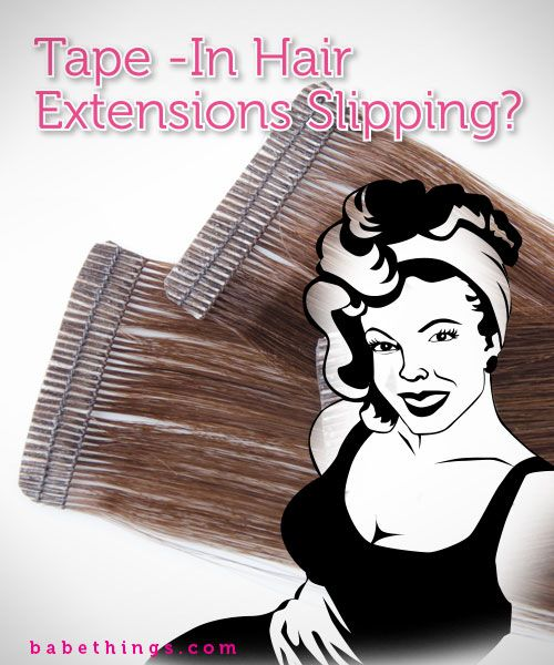 Best 25 tape in extensions ideas on pinterest tape hair keep tape in hair extensions from slipping out pmusecretfo Choice Image