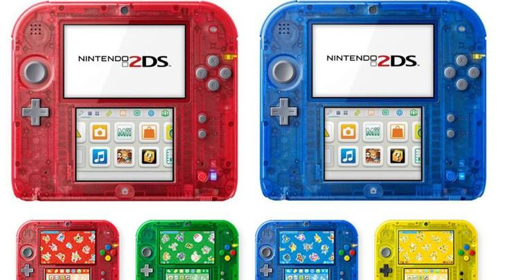 Japan Gets Limited Edition Nintendo's 2DS in Special Pokemon Colors - http://goribbit.com/2015/12/27/japan-gets-limited-edition-nintendos-2ds-in-special-pokemon-colors/
