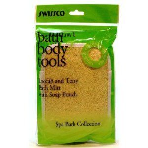 Swissco Loofah & Terry Bath Mitt (Small) by Swissco. $2.49