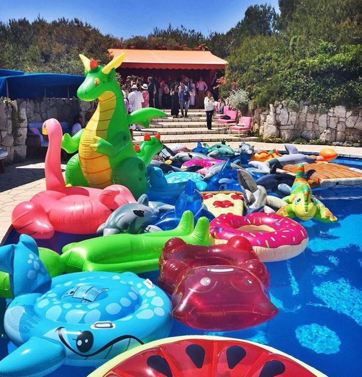 Pool Float Heaven Party In 2019 Cool Pool Floats
