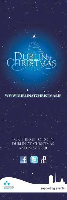 Visit Dublin at Christmas, Dublin City Banners #civicmedia2011