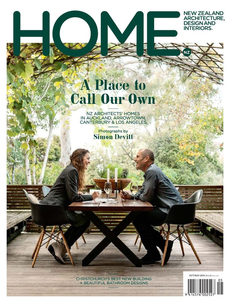 HOME NZ Oct / Nov 2014  A special issue featuring the homes of New Zealand architects.