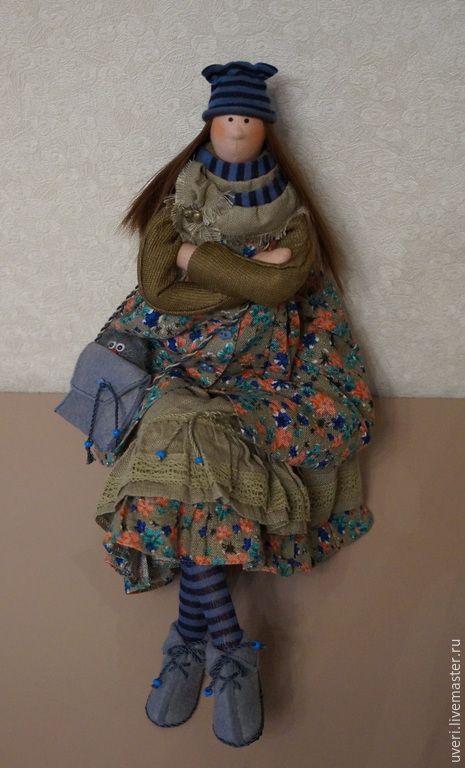 """Купить Кукла """"Иринка-маслинка"""" - тильда кукла, авторская кукла, кукла в подарок"""