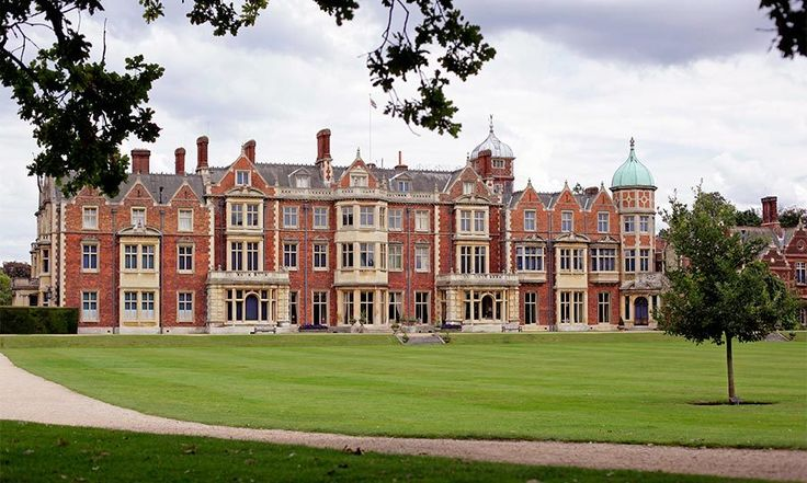 Sandringham House  Not bad for the Queen's beloved country escape where she has many cherished memories of her father.