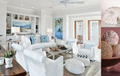 9 interni di case al mare a cui ispirarsi - Ecco 9 interni di case al mare a cui ispirarsi per una dimora di vacanza rilassante e dallo stile inconfondibile.