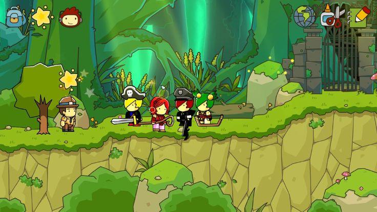 Scribblenauts: Unlimited: EBF4 Characters by Sonazefan186.deviantart.com on @deviantART