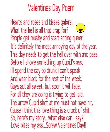 valentines poems for adults