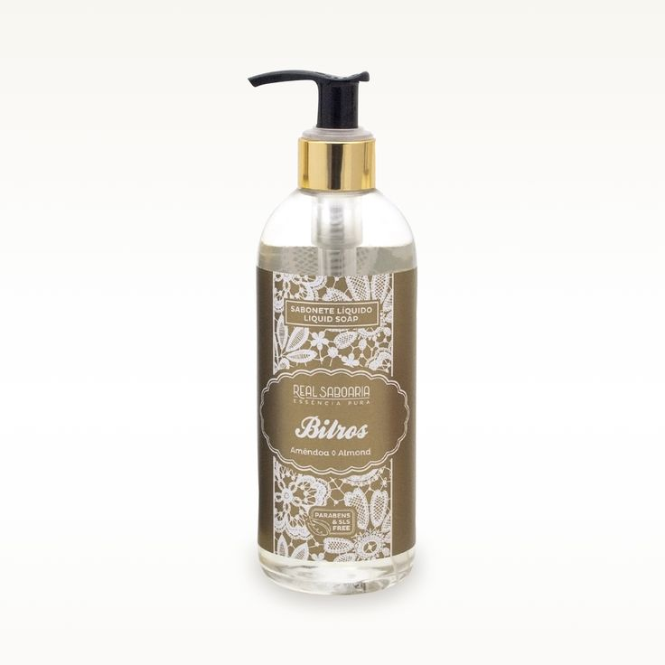 300ml  Sabonete Liquido | Liquid Soap BILROS