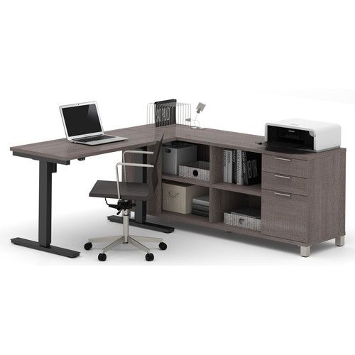 Found it at AllModern - Ariana L-Shape Desk Office Suite