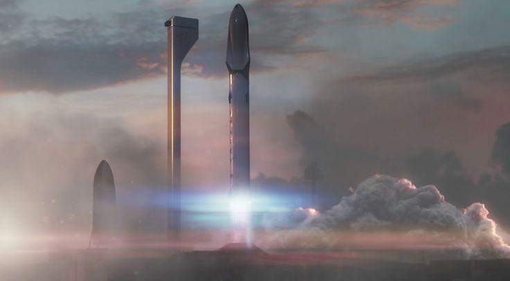 L'entreprise d'Elon Musk SpaceX vient de dévoiler son système de transport interplanétaire pour envoyer 100 personnes sur Mars en 80 jours.