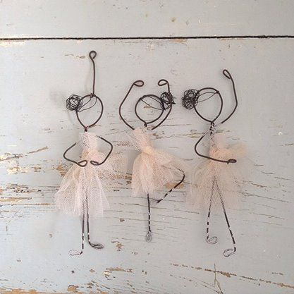 ballerinas but we may have to substitute pipe cleaners, easier for little fingers to shape.