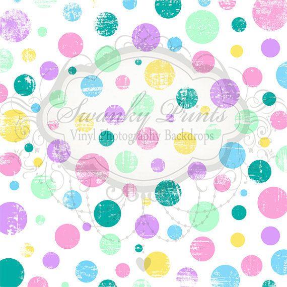 Pastel Polka Dots - Oz Backdrops and Props