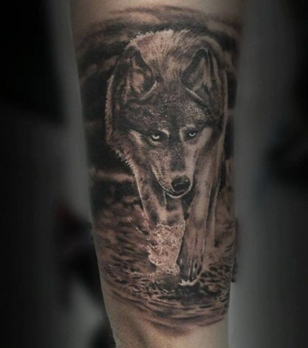 17 best ideas about wolf tattoo sleeve on pinterest forest tattoo sleeve geometric wolf. Black Bedroom Furniture Sets. Home Design Ideas