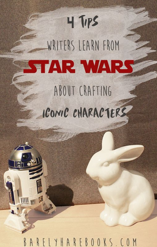 Han, Chewie, Leia, Luke... these are but the few names that have turned into worldwide icons. How can you write characters as iconic as these? You follow the five building blocks of character creation depicted by the Star Wars universe!