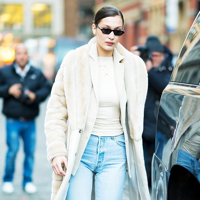 Bella Hadid and Kendall Jenner are bringing back those tiny sunglasses from The Matrix. Are you in? Here's where to shop yours.