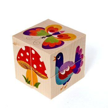 Cubikus Imago Wooden Block Puzzle. Handmade by Atelier Fischer in Switzerland, seen on the Wooden Wagon toys site. Feeling inspired to design my own block puzzle.