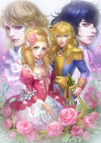 Фотографии Роза Версаля ♥Versailles no Bara♥   48 альбомов