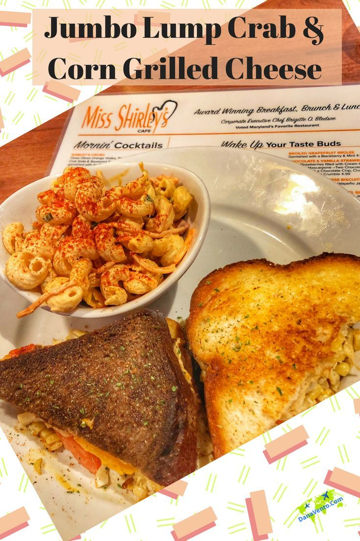 Best Breakfast Brunch And Lunch In Annapolis Maryland Award Winning Breakfast Lunch Brunch Cafe Miss Shirley S C Culinary Travel Best Breakfast Culinary