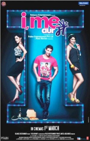 I Me Aur Main First Look Posters