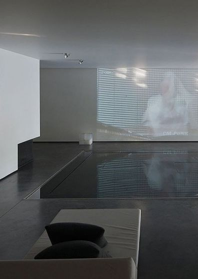 Luxury indoor pool, the Genets 3 House in Belgium by Aabe | Modern Minimalist Interiors | Contemporary Decor Design #inspiration #nakedstyle