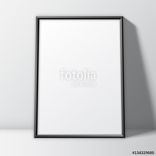 "Download the royalty-free vector ""Blank White Poster Template"" designed by Timurock at the lowest price on Fotolia.com. Browse our cheap image bank online to find the perfect stock vector for your marketing projects!"