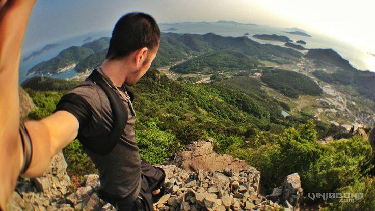 #Backpacking #Tongyeong #Mountain in #Korea... #travel #world #vinjabond #ocean