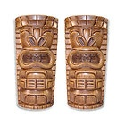 Outdoor speakers... Look like Tiki statues. These would be PERFECT to blend in with my tropical/exotic theme!
