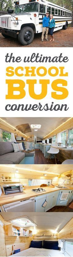 Outside Found School Bus Conversion Project:  All the best ideas & resources for your skoolie!