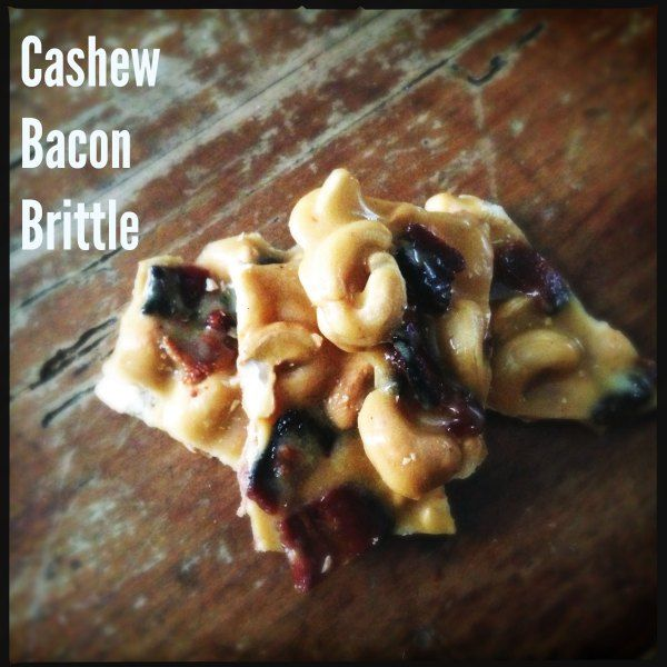 Cashew-Bacon-Brittle | Toasted Pecans, Pecans and Bacon
