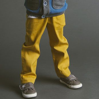 Clean Slate pants - simple trousers, includes zip fly