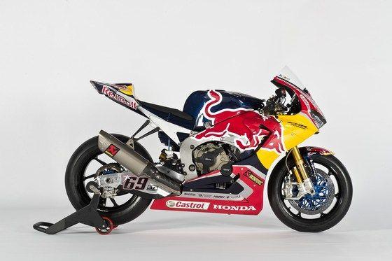Red Bull team racing bike.