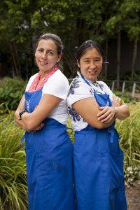 Danielle Crismani & May King Tsang inTEAviewed for the Great Australia BBQ.