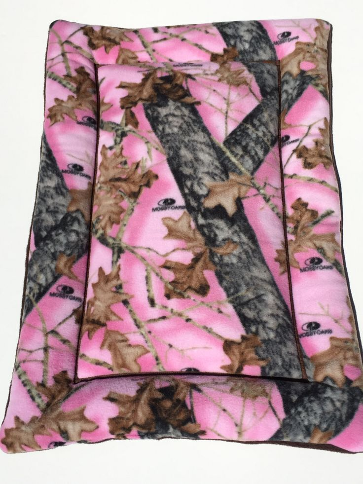 Pink Mossy Oak Dog Bed Dog Crate Pads Puppy Mat Large