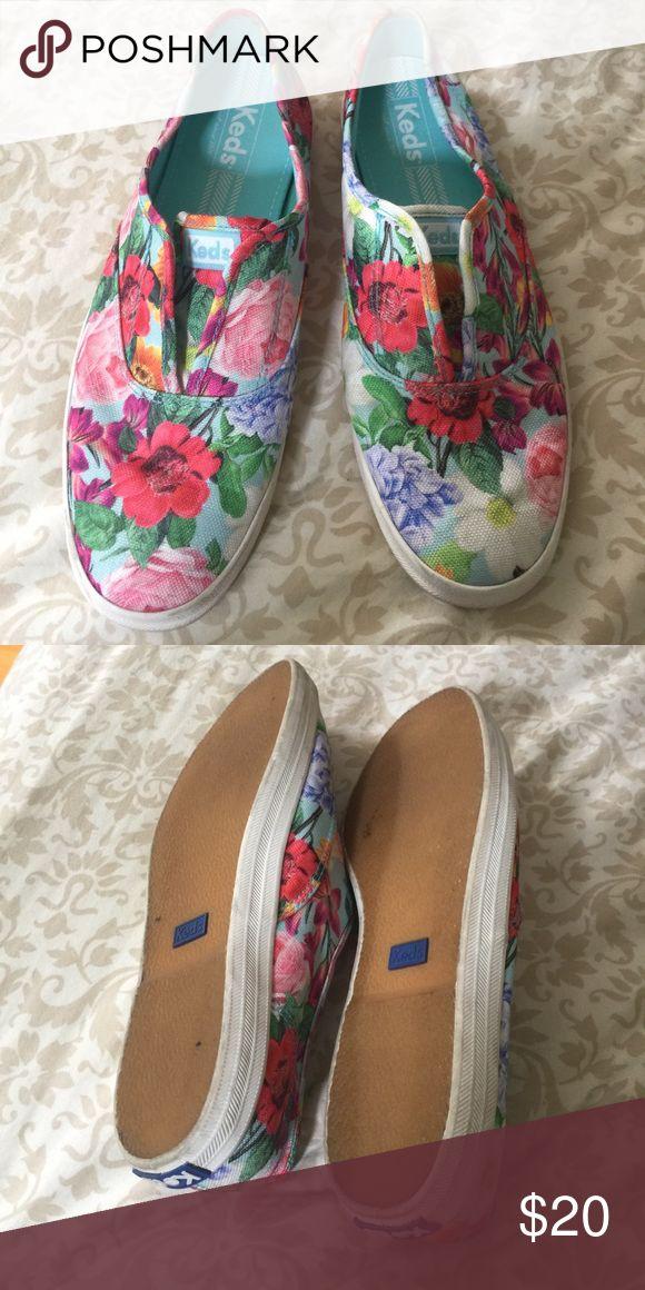 Floral Keds slip-ons Cute comfortable slip-on sneakers Keds Shoes Sneakers
