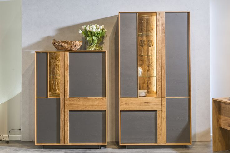 Modern wood sideboards from Klose.  #sideboard #livingroom #KloseFurniture #interiorideas