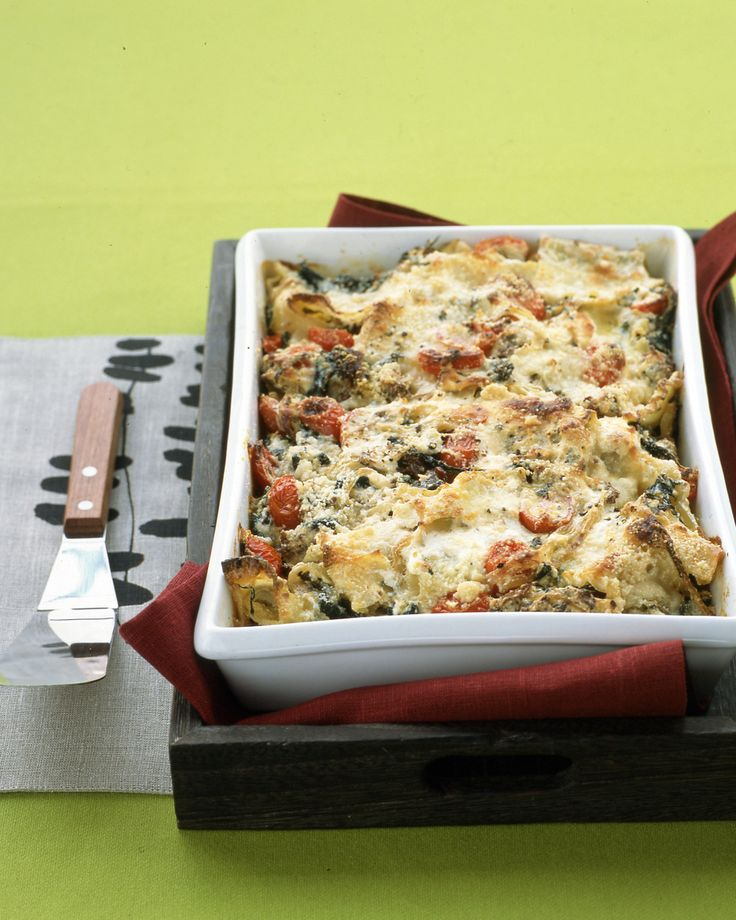 Lasagna with Sausage and Kale   The pasta strips are cut up, making it into more of a pasta casserole