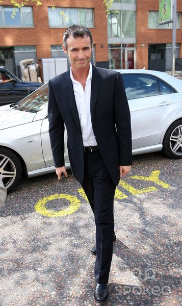Marti Pellow Celebrities outside the ITV television studios.