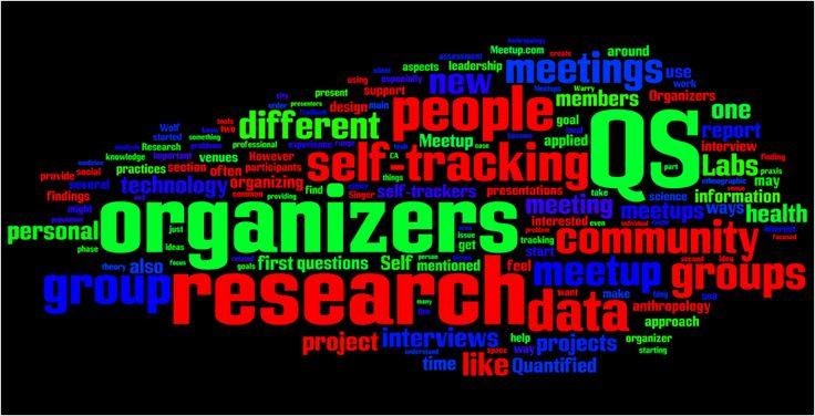 Quantified Self | Self Knowledge Through Numbers (Heard on NPR...)