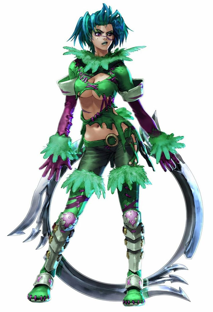 Tira from Soul Calibur