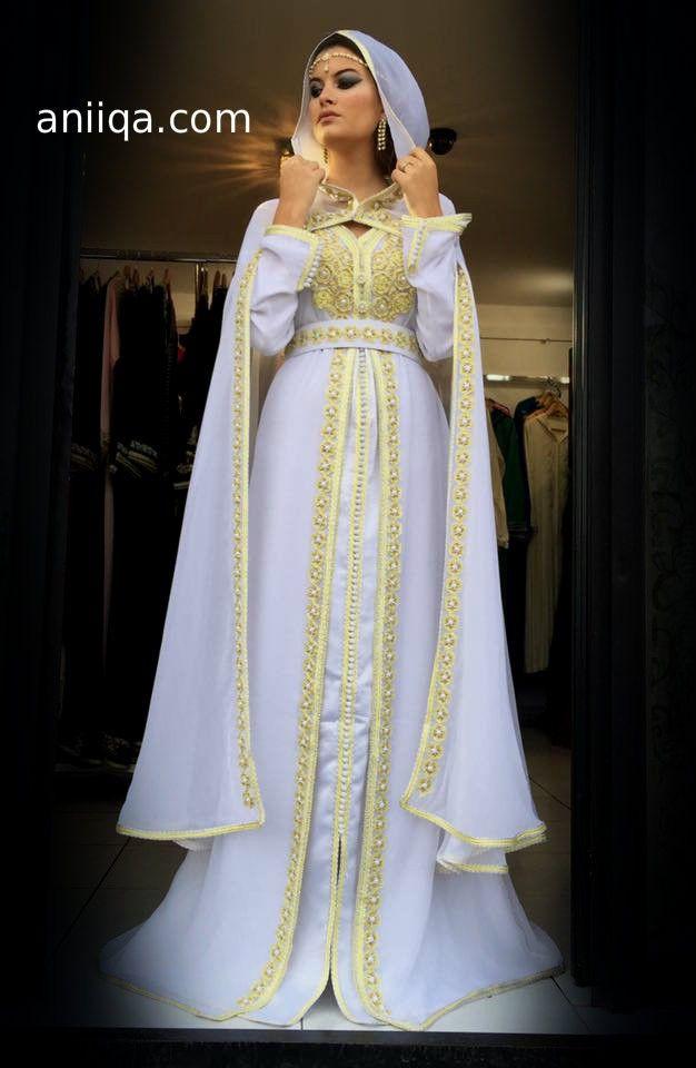 1er coup de cœur robe blanche pour nikkah